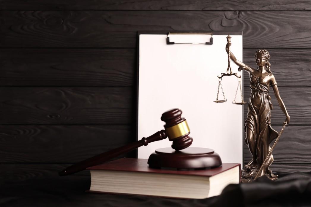 statut de la justice avec livre